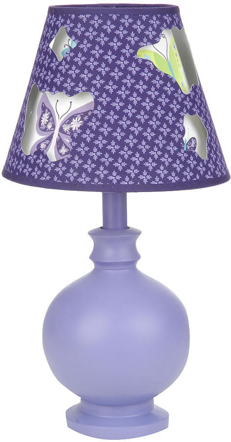NoJo Crown Craft Beautiful Butterfly Lamp