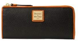 Dooney & Bourke Pebbled Leather Zip Wallet
