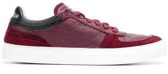 Stone Island leather low top-sneakers