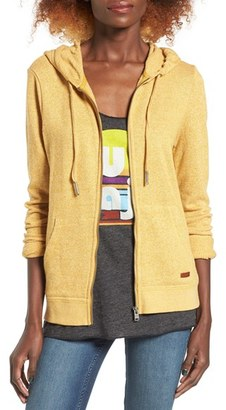 Women's Roxy Signature Cotton Blend Hoodie $39.50 thestylecure.com