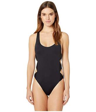 Isabella Collection Rose Bow Tie One-Piece