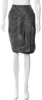 Pauw Silk Abstract Printed Skirt