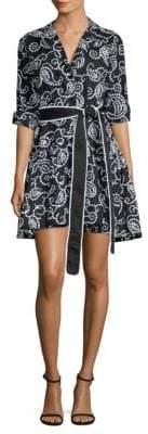 Alexis Tamara Paisley Embroidered Dress
