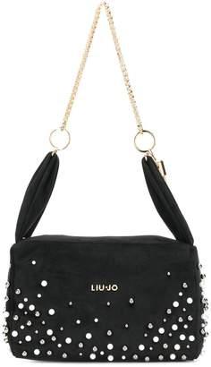 Liu Jo pearl studded shoulder bag