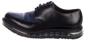 Prada Patent Leather Platform Oxfords