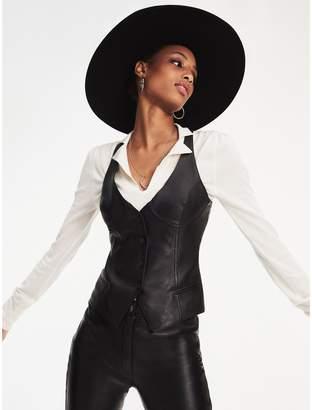 Tommy Hilfiger Zendaya Leather Waistcoat