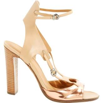 Pre-owned - Leather sandals Michel Perry BJnkNq