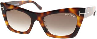 Tom Ford Women's Kasia 55Mm Sunglasses