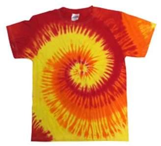 Tie-Dye Adult 5.4 oz., 100% Cotton Tie-Dyed T-Shirt CD100