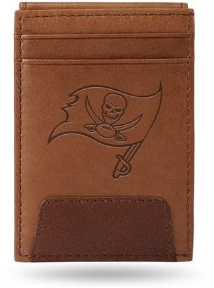 Tampa Bay Buccaneers Embossed Slim Leather Wallet