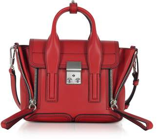 3.1 Phillip Lim Scarlet Leather Pashli Mini Satchel Bag