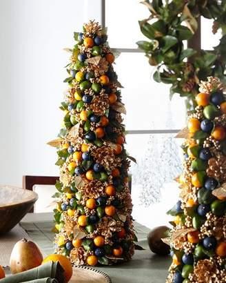 "Salzburg Creations Autumn Beauty Tabletop Christmas Tree - 24"""