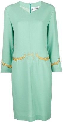 Gianfranco Ferre Pre-Owned embroidered dress