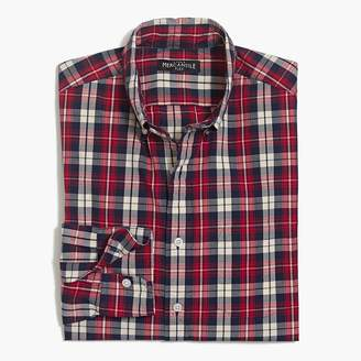 J.Crew Classic flex washed shirt in plaid