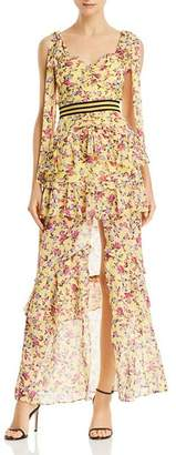 For Love & Lemons Maison Floral Maxi Dress