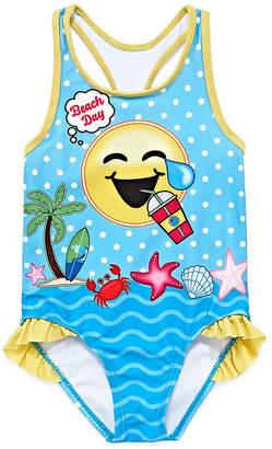 Asstd National Brand One Piece Swimsuit Toddler Girls