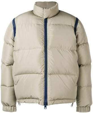 Sunnei zipped padded jacket