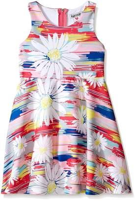 Kensie Floral Sleeveless Dress