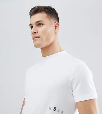 Noak T-Shirt In Sports Jersey With Printed Logo