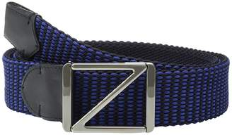 Ermenegildo Zegna 40mm Woven Leather Belt BTREY9 Men's Belts