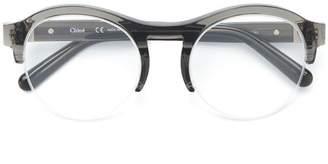 Chloé Eyewear acetate round glasses