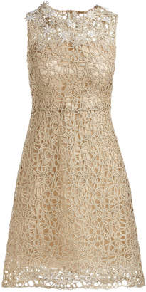 Elie Tahari Ophelia Sleeveless Lace Dress