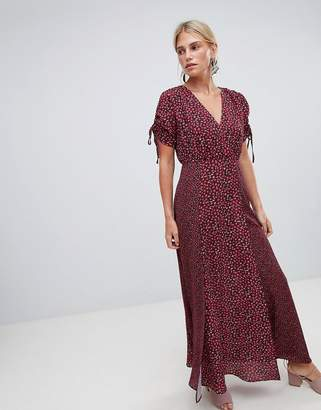French Connection Maxi Tea Dress in Floral Print