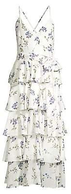 Jay Godfrey Women's Hader Tiered Midi Dress