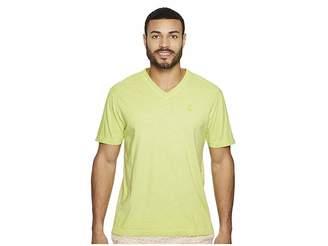 Psycho Bunny Sublime Wash V-Neck T-Shirt Men's T Shirt