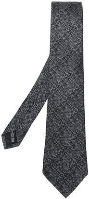 Salvatore Ferragamo pixel print tie