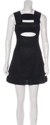 Self-Portrait Knit Sleeveless Dress