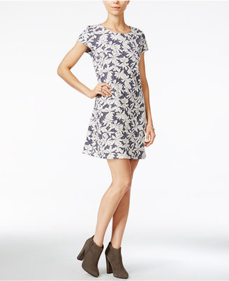 Maison Jules Jacquard Shift Dress, Only at Macy's $69.50 thestylecure.com
