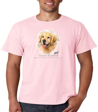 Golden Retriever Juiceclouds T Shirt Dog Owner Mens Tee S-5XL (, 3XL)