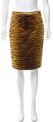 Michael Kors Animal Print Pencil Skirt