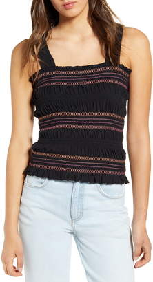 BP Stripe Smocked Tank