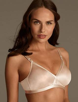 Marks and Spencer 2 Pack Non-Wired Crossover Full Cup Bras A-E