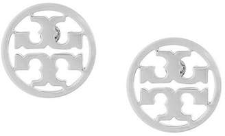 Tory Burch logo circle earrings
