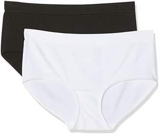 Dim Women's Boxer ECODIM Microfibre X2 Boy Short,(Pack of 2)