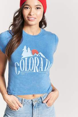 Forever 21 Colorado Graphic Tee