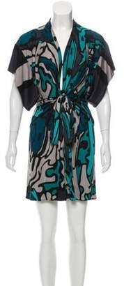 Issa Knit Mini Dress Black Knit Mini Dress