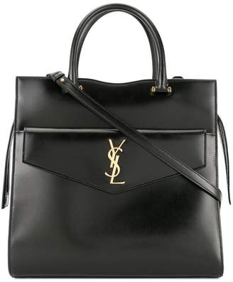Saint Laurent large Uptown tote bag