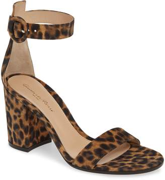 714d99c07a0 Gianvito Rossi Brown Ankle Strap Women s Sandals - ShopStyle