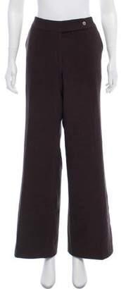 Calvin Klein High-Rise Wide-Leg Pants