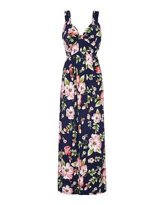71f4ec7b0e0 Yumi London Curve Floral Maxi Dress
