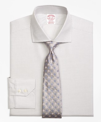 Brooks Brothers Madison Classic-Fit Dress Shirt, Sidewheeler Check