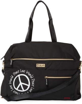 Peace Love World Women's Duffle Bag