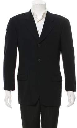 Calvin Klein Collection Virgin Wool Three-Button Blazer