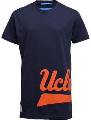 UCLA Boys Printed Script T-Shirt Peacoat