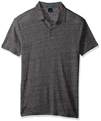 Scotch & Soda Men's Classic Polo in Lightweight Linen Quality