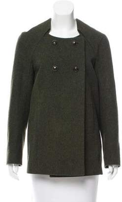 Chloé Short Wool Coat